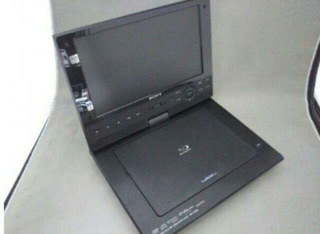 Sony Bdp-sx910 Wide Screen Portable Blu-ray Disc Dvd Player Japan Used Cz602