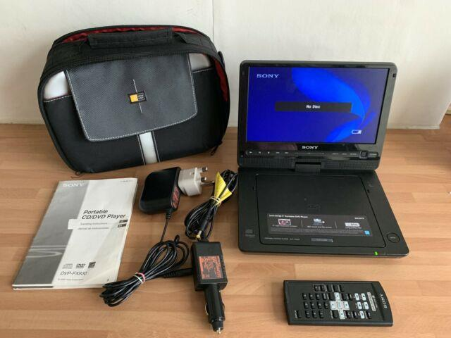 Sony Dvpfx930 9-inch Portable Dvd Player Black Vgc Fully Working -free P&p