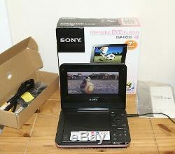 Sony DVP-FX730 Portable DVD player with 7-in Display Pink (DVP-FX730/P)