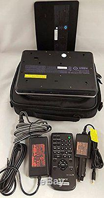 Sony DVP-FX810 8 110/240 Zone Free Portable DVD Player AC&DC Adapter With Case