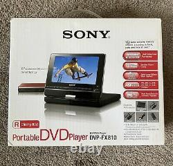 Sony DVP-FX810 Portable DVD Player (8) New In The Box Unsealed