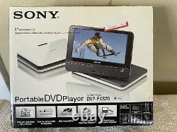Sony DVP-FX820 Portable Widescreen DVD Player (8) with wireless remote Open Box