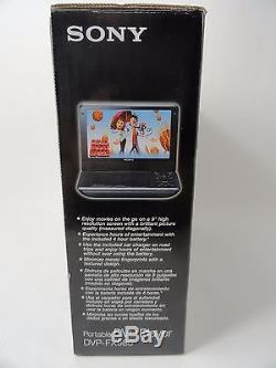 Sony DVP-FX980 9-Inch Portable DVD Player, High Resolution, Widescreen New