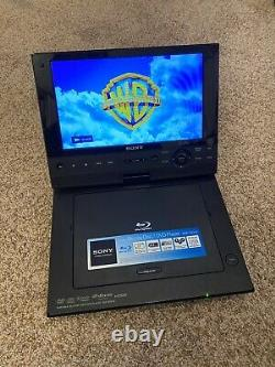 Sony Portable Blu-Ray/DVD Player Model BDP-SX910 withAC Adapter Tested & Working