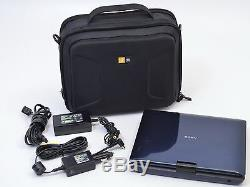 Sony Portable Blu-Ray Disc/DVD Player BDP-SX1000 Viewer with Accessories & Case