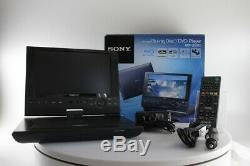Sony Portable Blue-Ray DVD Player 9-in High-Res LCD NTSC/PAL (BDP-SX910)