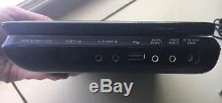 Sony Portable DVD Player 9 DVP-FX970 Remote Travel Case Complete with Cables