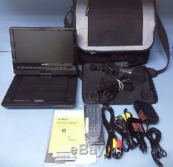 Sony Portable DVD Player DVP-FX950 9 Screen plus full accesories Complete