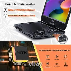 Sunpin Portable Dvd Player 12.5 For Car And Kids, 10.1 Inch Eyesight Protective