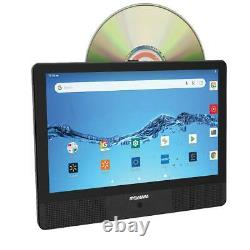 Sylvania 10.1 Quad Core Tablet/Portable DVD Player Combo, 1GB/16GB, Android, SL