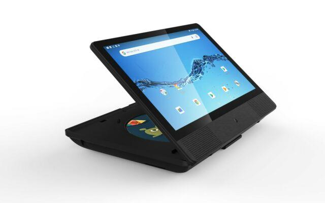 Sylvania 10.1 Smart Android Tablet/portable Dvd Player 2-in-1 Combo Brand New