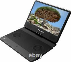 Sylvania 13.3 Portable Blu-ray Player with Swivel Screen Black (READ) UD