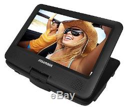 Sylvania 9-Inch Swivel Screen Portable DVD/CD/MP3 Player with 5 Hour Built-In
