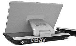 Sylvania SDVD1256 11.6-Inch Portable DVD Player with USB and SD Card Reader
