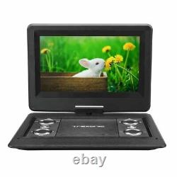 Trexonic 12.5 Portable TV DVD Player withTFT LED Screen & USB/HDMI Inputs Remote