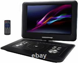 Trexonic 14.1 Inch Portable DVD Player with TFT-LCD Screen and USB/SD/AV Inputs