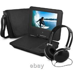UNIQUE Portable Multi-Functional DVD Player with Headphones and Bag NEW SEALED