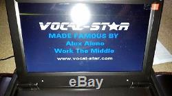 Vocal-Star Portable BoomBox CDG DVD Karaoke Machine Player With Bluetooth 2017