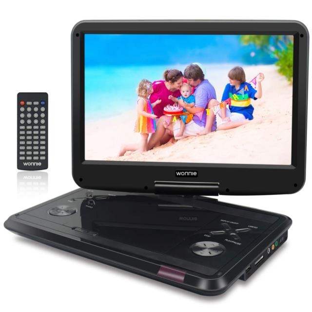 Wonnie 14.6 Inch Portable Dvd Player With 270 Swivel Screen, Large Size Screen 4