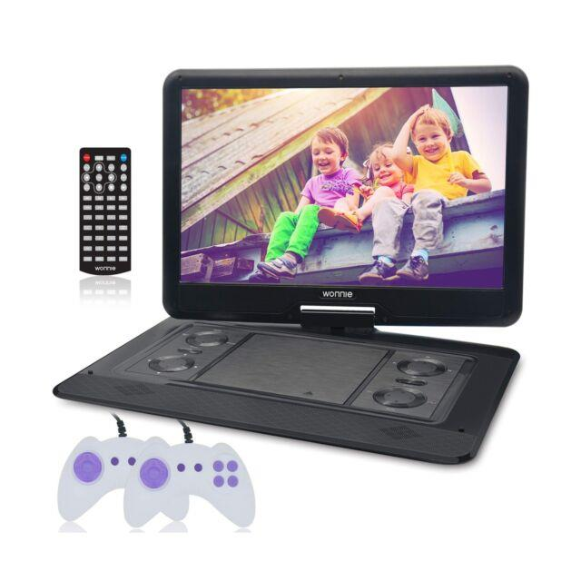 Wonnie 15.6 Large Portable Dvd/cd Player With Hd 1366x768 Lcd Tft 270° Swive